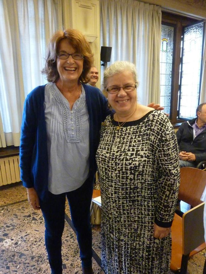Rachel Bullough y Yolanda Fdez.-Barredo