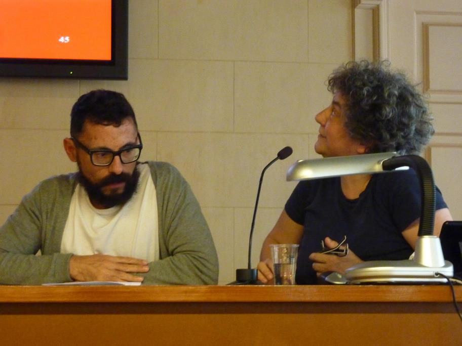 Raúl Hevia y Giulia Cucinella