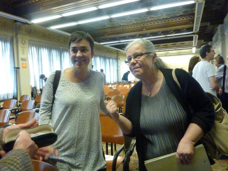 Raquel Estevan y Yolanda Fdez. Barredo