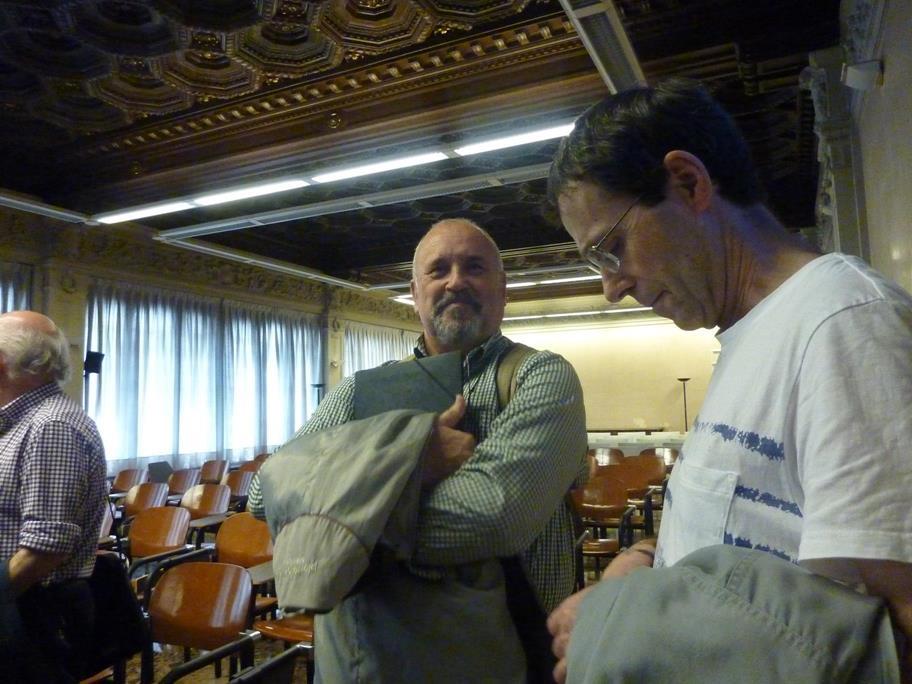 Alejandro Almazán y Carlos Teixidor