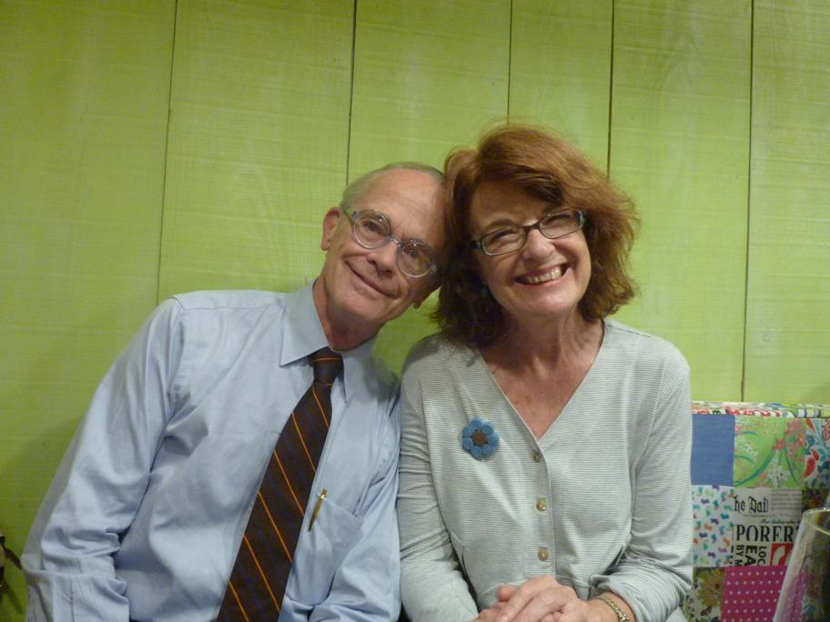 Lee Fontanella y Rachel Bullough
