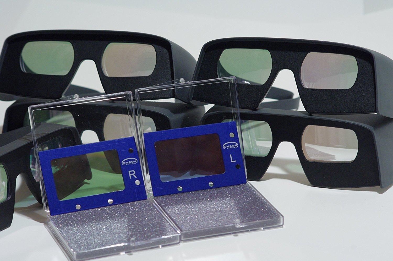 Omega glasses & filtres
