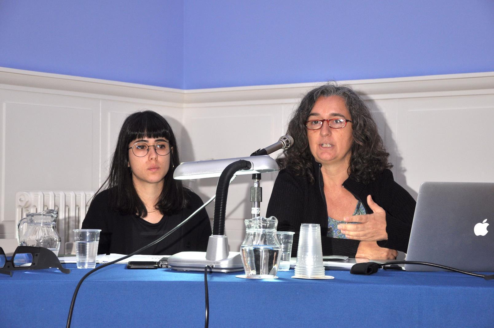 Aida Maideu Vergés y Laia Fox. IEFC, Fotoconnexio, Barcelona. 25/19/19