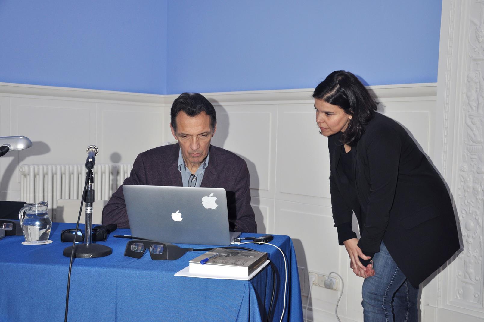 Denis Pellerin y Beatriz Sánchez Torija. 23/10/19