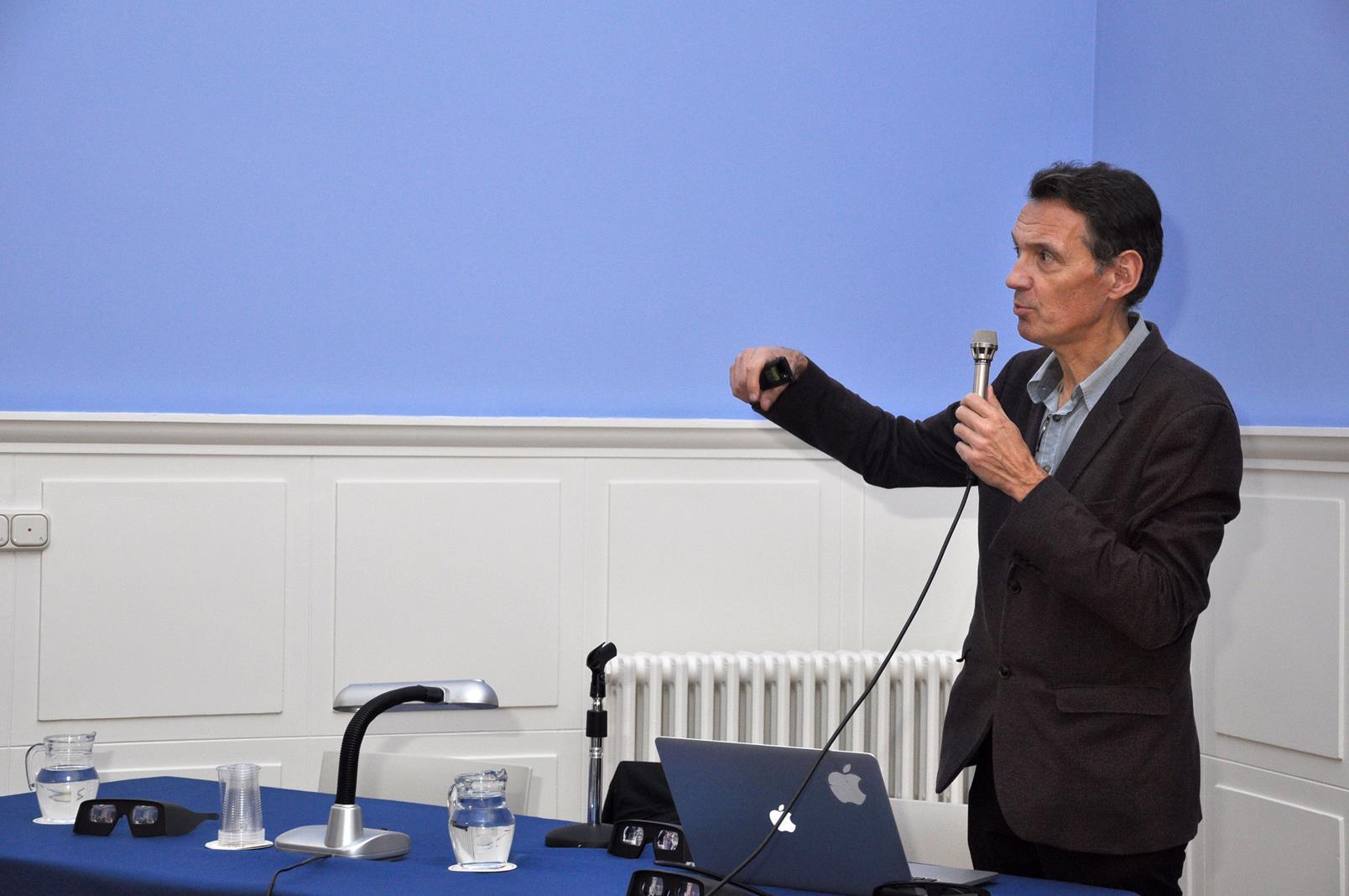 Denis Pellerin, Director de la London Stereoscopic Company. Ponencia inaugural, 23/10/19