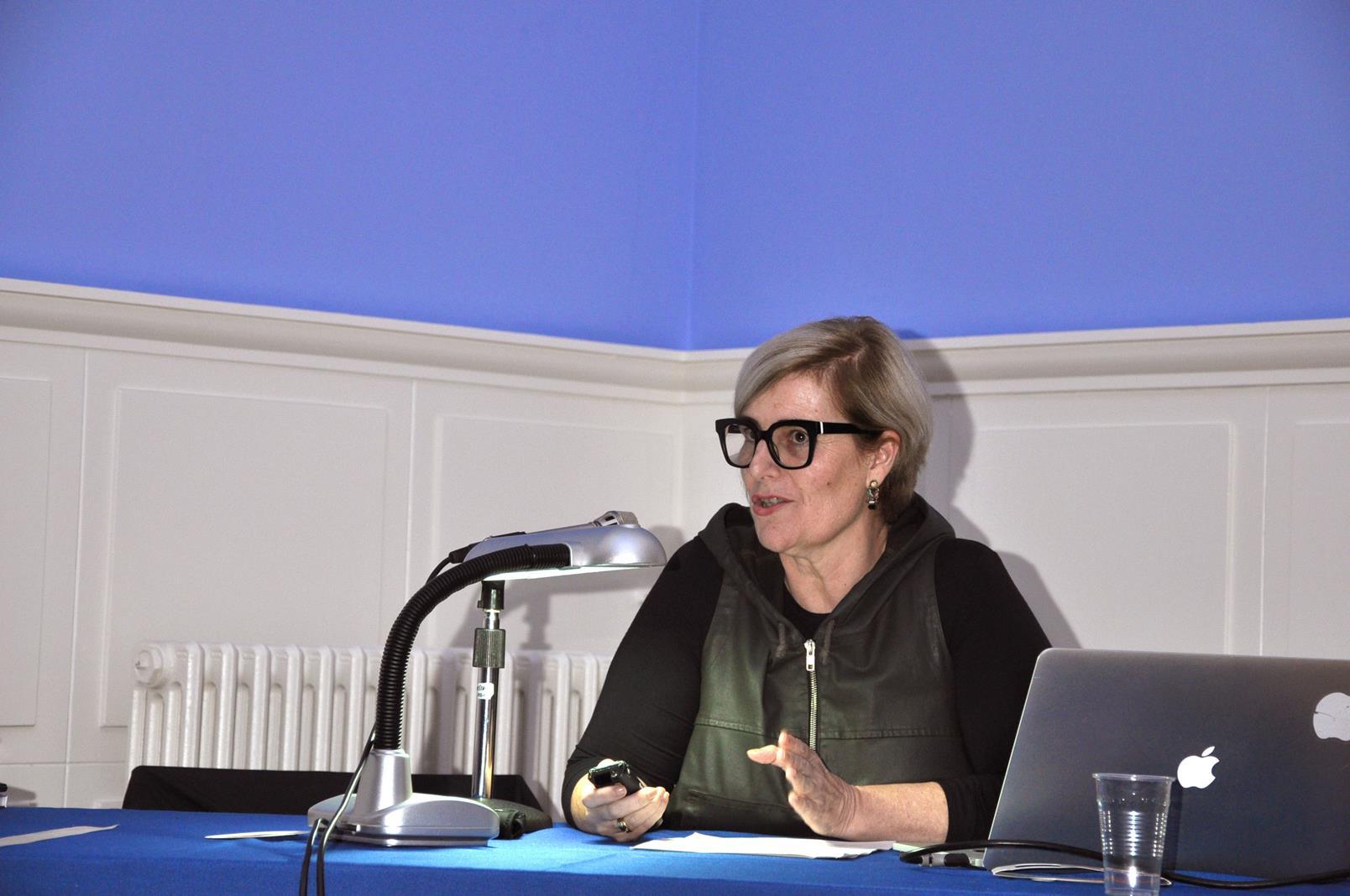 Manuela Alonso Laza. Directora del CDIS, Santander. 23/10/19