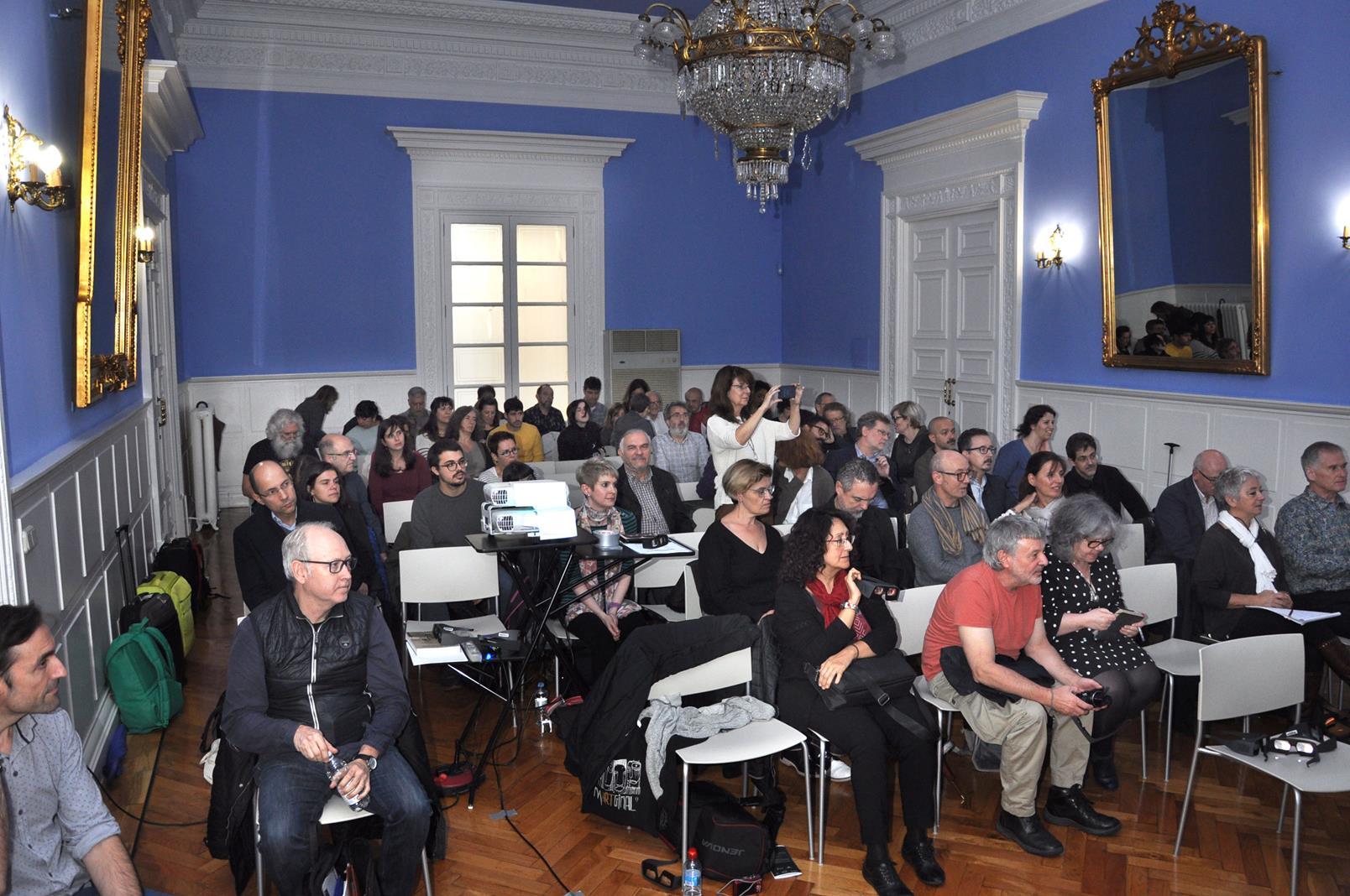 Sala Azul, Palacio de Sástago, Zaragoza. 23/10/19
