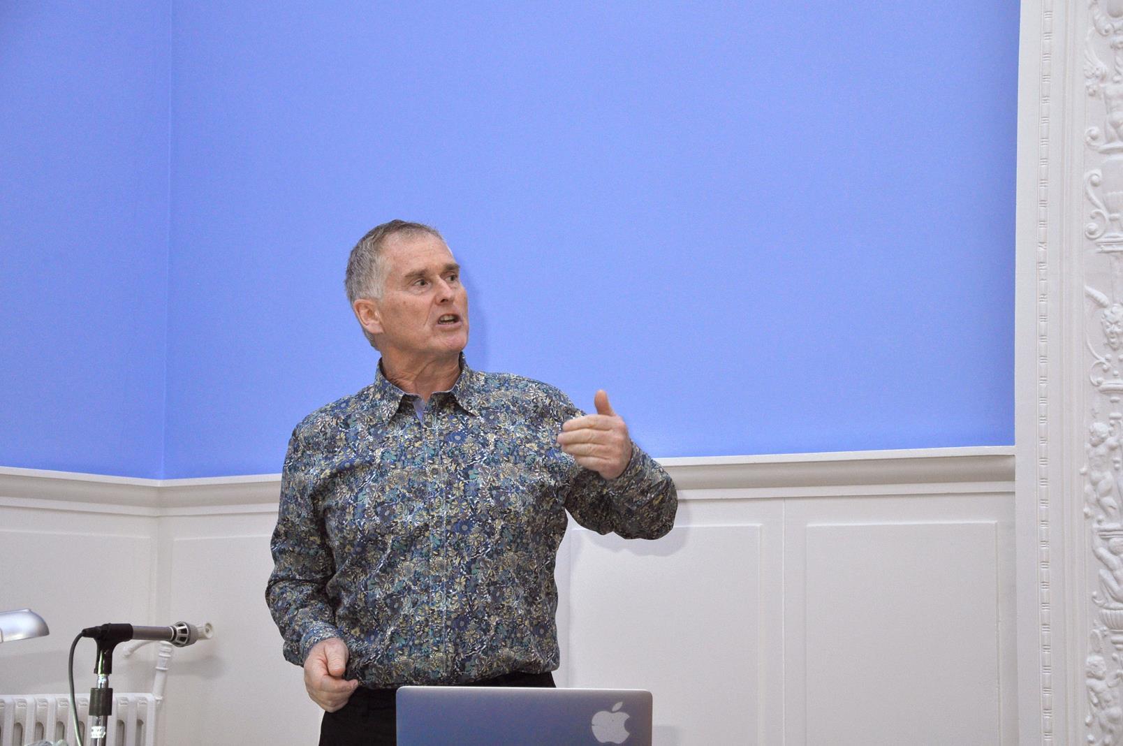Peter Blair, coleccionista y fotohistoriador, Escocia. 23/10/19