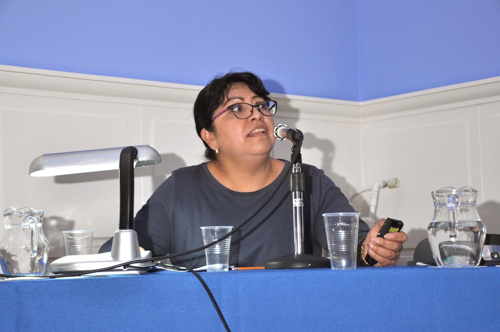 Sandra Arzate González. UNAM, Archivo Manuel Toussaint, Méjico. 24/10/19