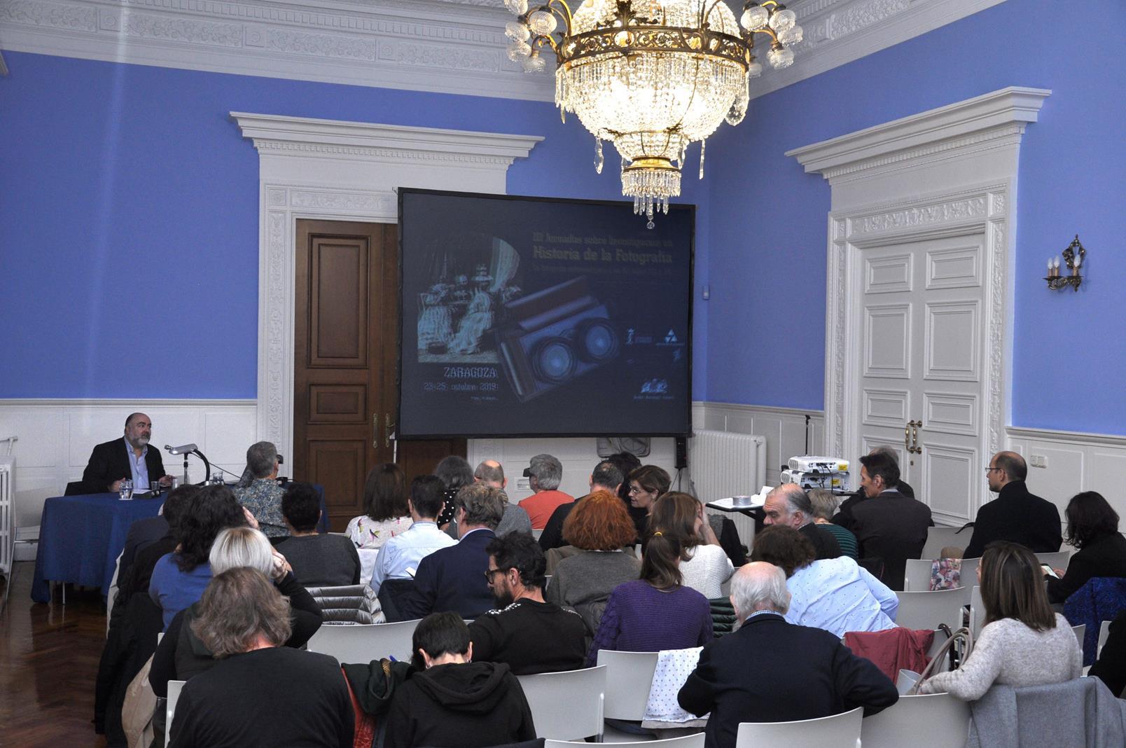 Presentación de las III Jornadas por J.A. Hernández Latas. 23/10/19