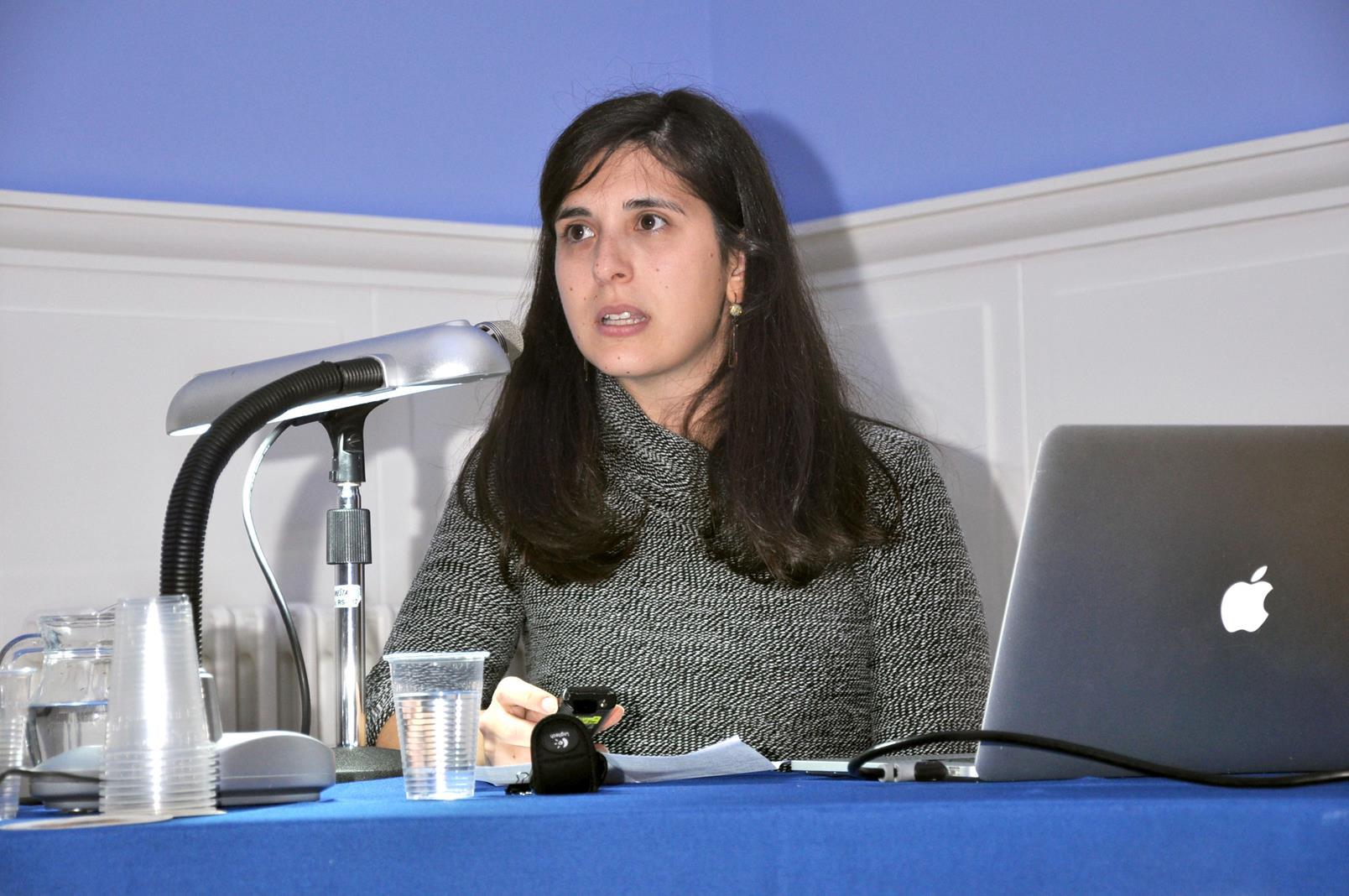 Sara Brancato. Restauradora, UCM, Madrid. 25/10/19