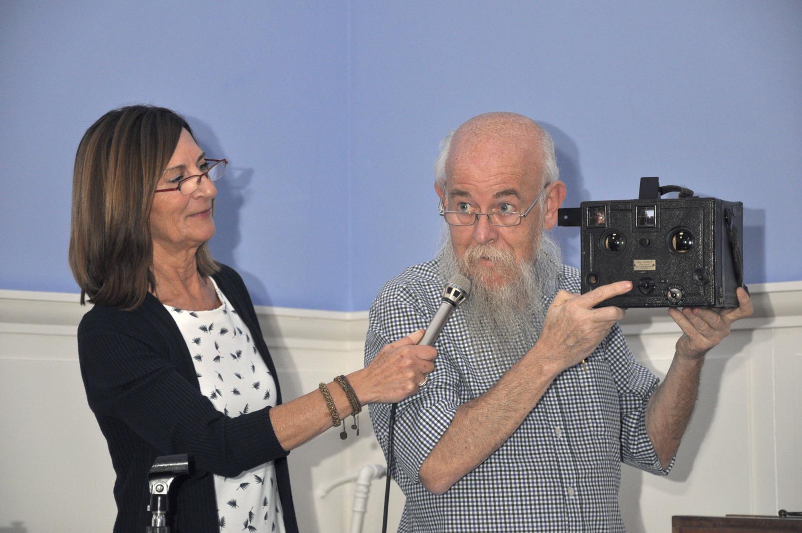 Stella Ibáñez y Paco Boisset, Coleccionistas. Ponencia, 23/10/19