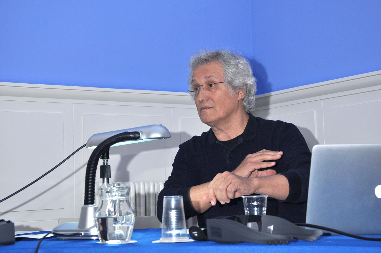 Carlos Velilla Lon. Artista y profesor UB, Barcelona. 24/10/19