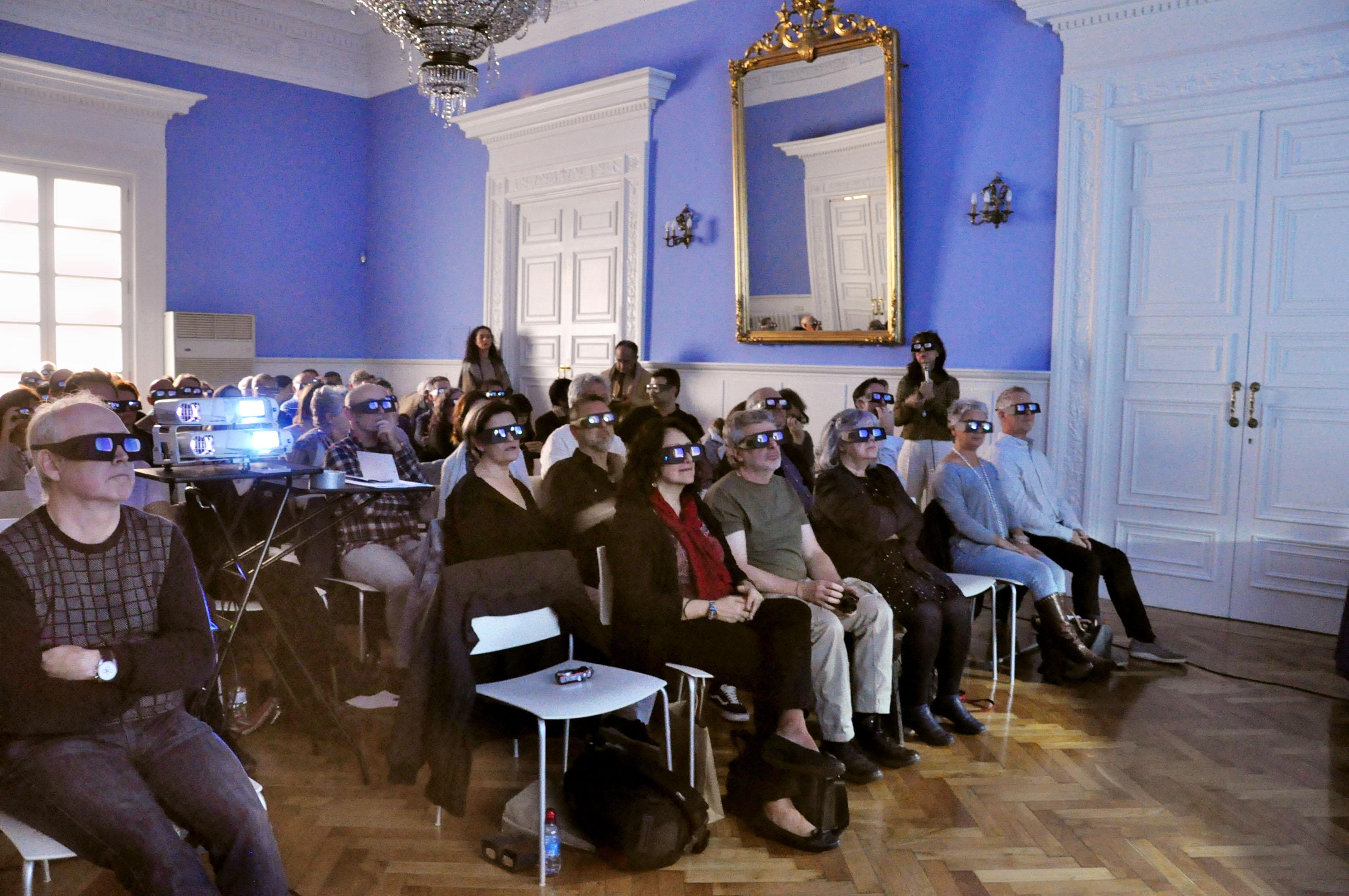 Ponencia de Clausura: Teresa García Ballesteros y J.A. Fernández Rivero, Sala Azul, Palacio de Sástago, 25 de octubre de 2019